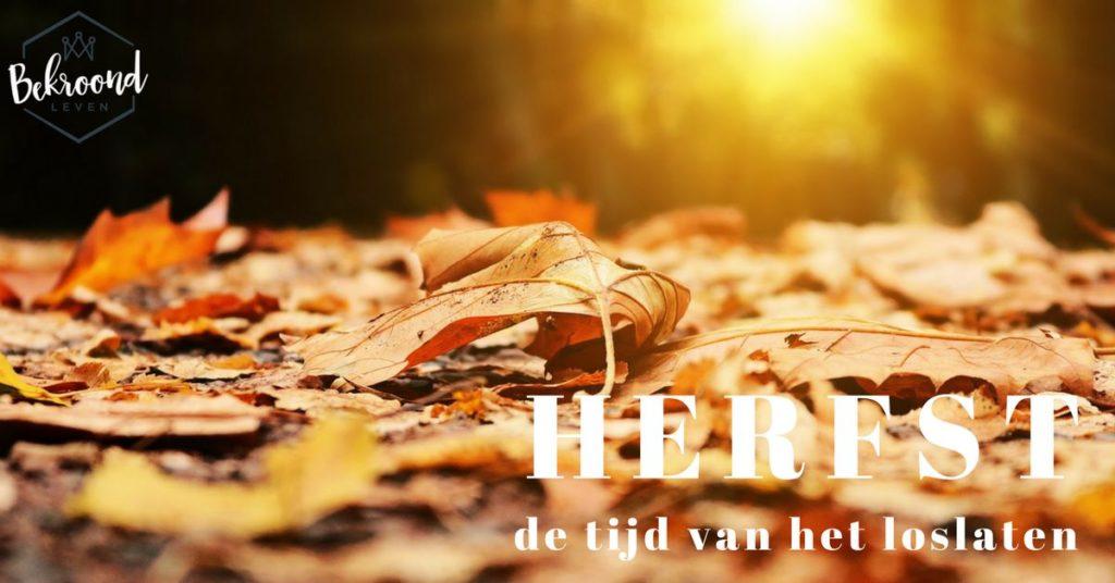 Herfst tijd van loslaten